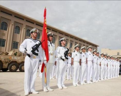 File image of soldiers at the launch of China
