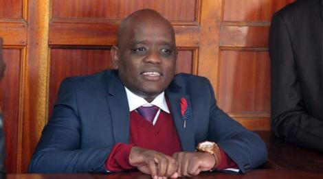 File image of Digital Strategist Dennis Itumbi in court in July 2019