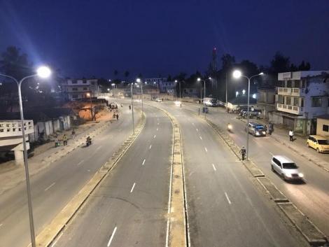 Port Reitz - Moi International Airport access road