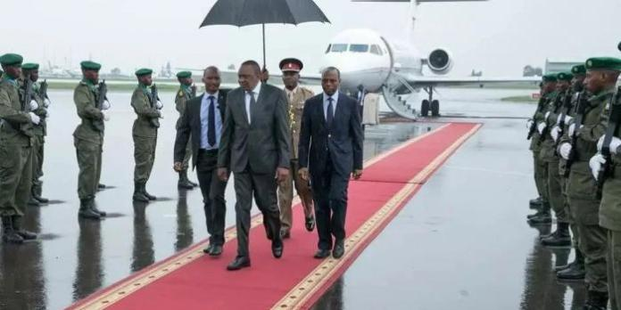 6 People Uhuru Flies With on Foreign Trips