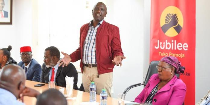 Jubilee Loophole That Nullifies Ruto's Suspension