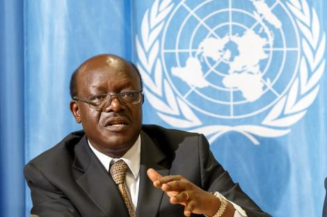 United Nations Conference on Trade and Development (UNCTAD) Secretary-General Mukhisa Kituyi addresses a conference on November 25, 2017.