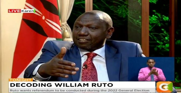 HERE is what confused angry DP Ruto told Citizen TV's Joe Ageyo over BBI