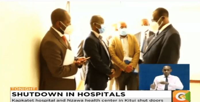 Paralyzing strike by nurses and clinical officers enters fifth day