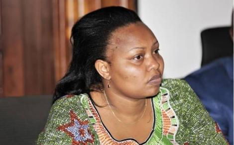 Nominated Senator Millicent Omanga