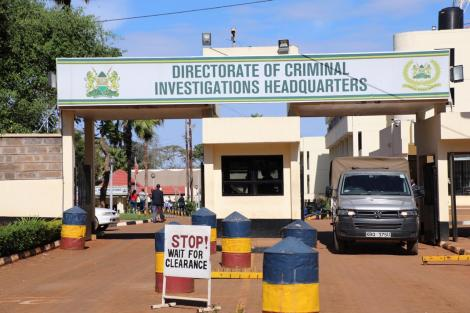 Directorate of Criminal Investigations headquarters along Kiambu Road
