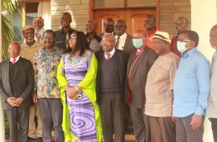 We will back Raila Odinga 2022 to deepen unity'- Gikuyu elders led by SK Macharia confirm