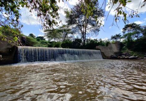 A dam along the River Kathaani