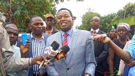 Machakos Senator Boniface Kabaka
