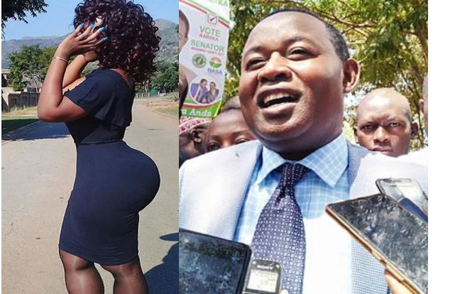 After 21hour s3x marathon that nearly killed Machakos senator, hot Kamba woman released from Police custody