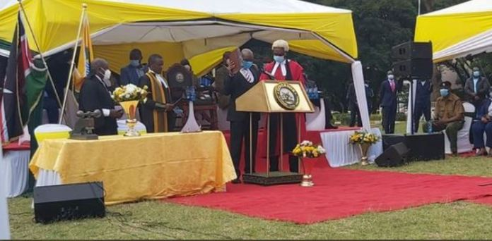 Breaking: County speaker sworn in as acting Nairobi governor, Sonko SILENCED, end of vipindi!