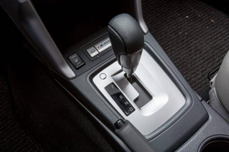 Gear lever of an automatic transmission.