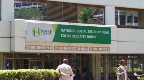 NSSF building in Nairobi's Upper Hill.