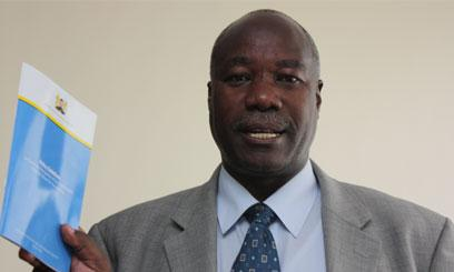 Former West Mugirango MP James Gesami