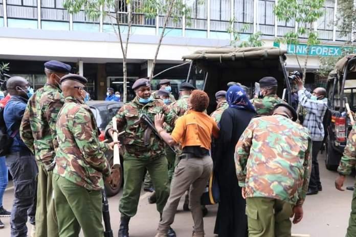 "Photos: ""Friends of Uganda"" demonstration turns chaotic, hundreds  arrested"