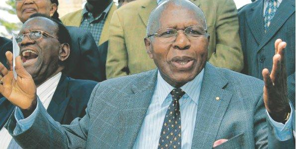 WHAT YOU MUST KNOW about Mzee Simeon Nyachae, the former powerful cabinet minister