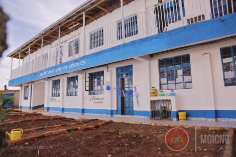 The Dr. Matiang'i Science Complex Lab at Tombe Girls High School