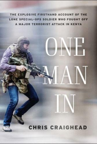 The cover of Chris Craighead's upcoming book, One Man In