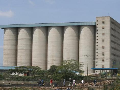 Offices of the Kenya National Cereals and Produce Board.