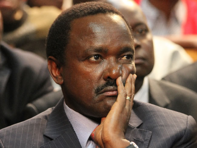 Hon Kalonzo is a political Hyena in Ukambani