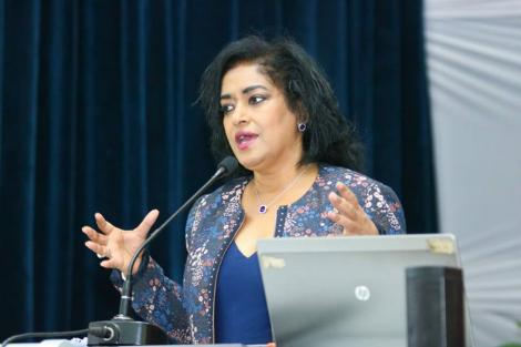 Nairobi Woman Representative Esther Passaris during a women empowerment session in Nairobi on October, 2020.