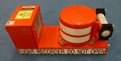 A stock image of a flight recorder