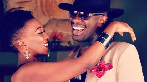 Kenyans Celebrity Couple Nameless and Wahu