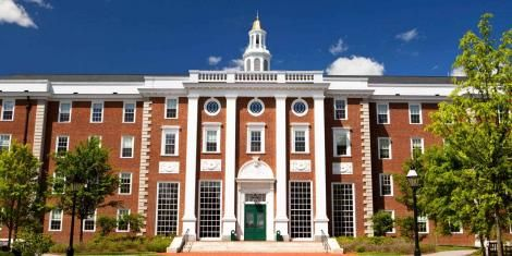 A building at Harvard University
