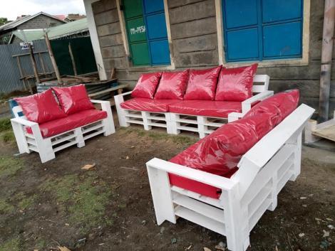 Seats created by Faimi United Furniture in Nakuru County
