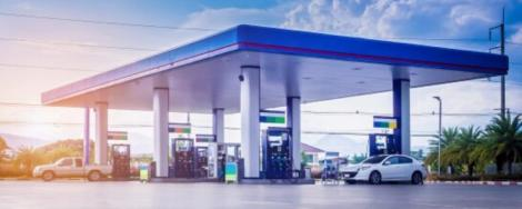 File image of a petrol station
