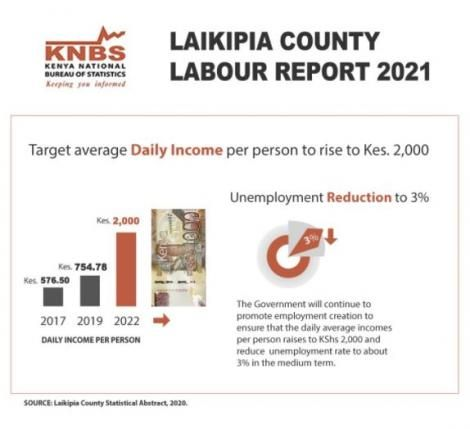 The Laikipia County Labour report 2021.