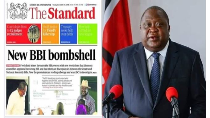 Uhuru gains stress related weight as BBI hits a near dead-end