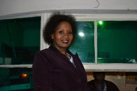 IEBC Corporate Affairs Manager and Association of Professional Broadcasters (APB) Tabitha Mutemi