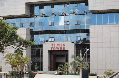 Times Towers in Nairobi which houses Kenya Revenue Authority's head office. Thursday, February 20, 2020.