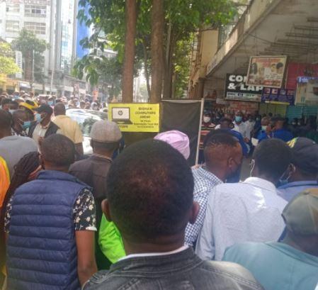 The shooting incident on Moi Avenue, Nairobi