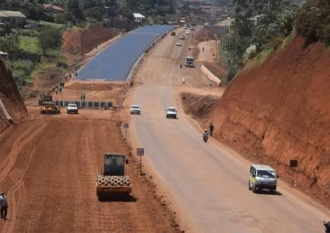 The Nairobi -Western bypass progress