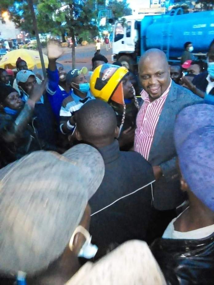Breaking news: MP Moses Kuria arrested