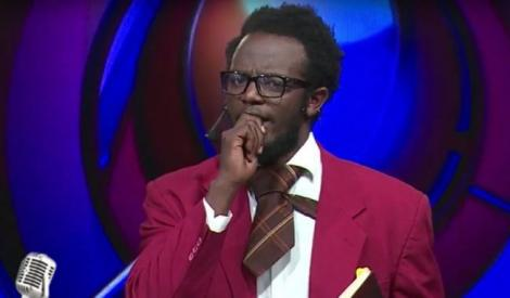 Image file of comedian Professor Hamo during the old show