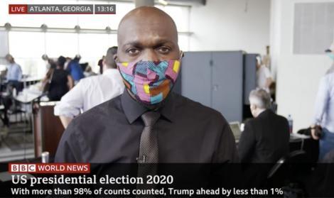 BBC journalist Larry Madowo