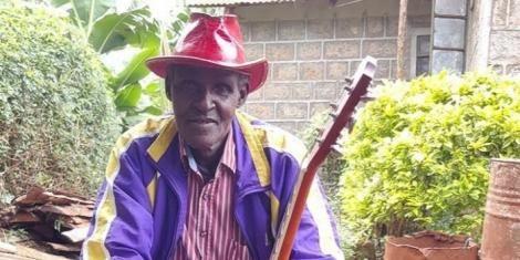 Dick Njoroge Munyonyi, an artist who sung the viral Firirida song