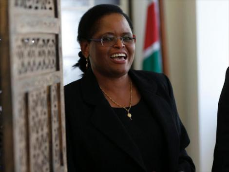 Court of Appeal judge Martha Koome