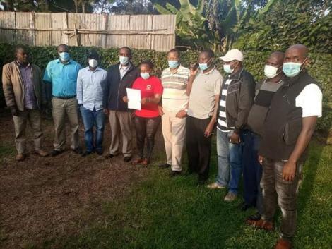 10 Jubilee Party Muguga Ward aspirants
