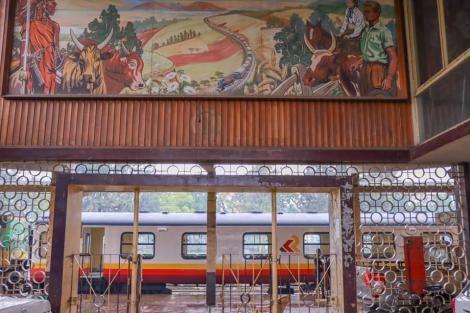 The Nakuru Railway Station