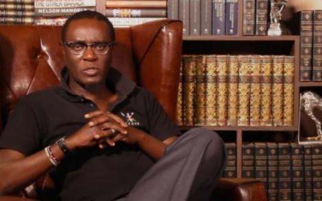 File image of political analyst Mutahi Ngunyi