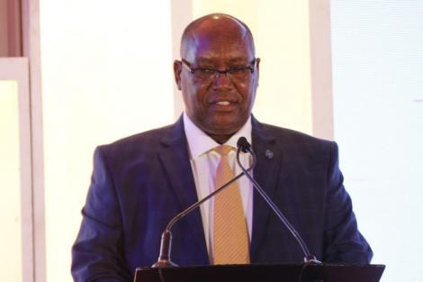 Nation Media Group CEO Stephen Gitagama.