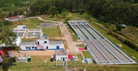 The Ksh2.4 billion Siaya-Bondo water supply and sanitation project.