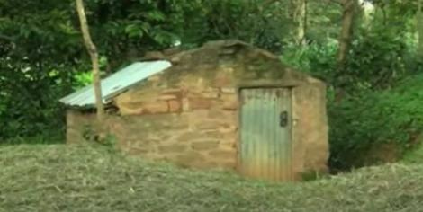 The structure by Ouma in Busia County.