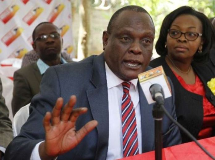 Drama: Murathe's bodyguards withdrawn after Jubilee loss