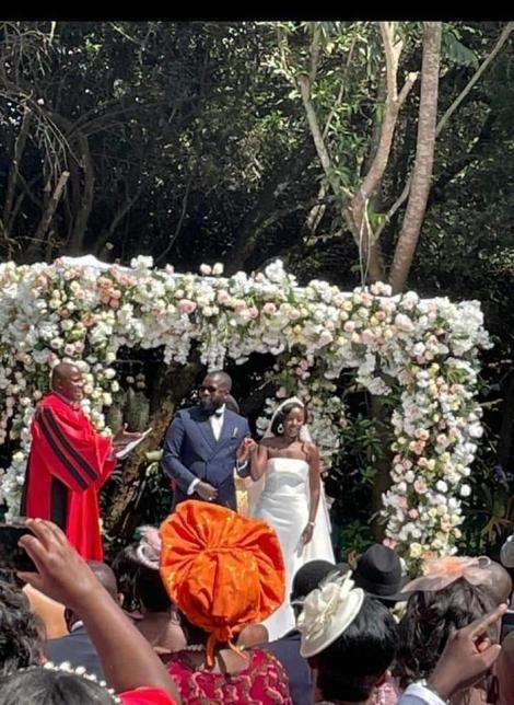 June Ruto weds Alexander Ezenagu on Thursday, May 27 at a private event.