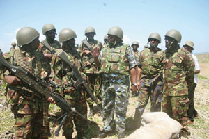 Police officer shoots butcherman after missing on a KDF officer who had snatched his girlfriend
